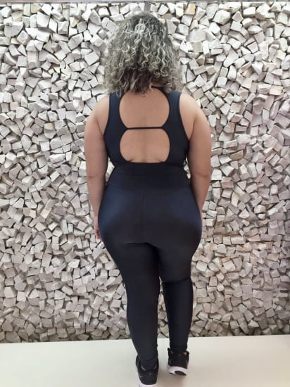 CONJUNTO FITNESS PLUS SIZE GRAFITTI TRILOBAL